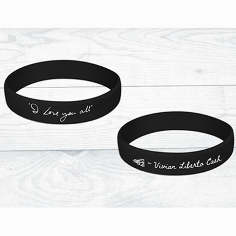 """I Love You All"" Wristband (Black)"