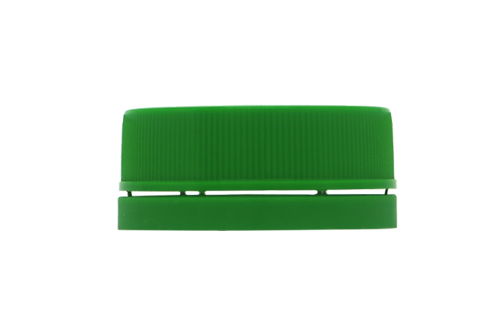 Tampa Rosca Inviolável R30/35 Verde Folha (25 Unidades)