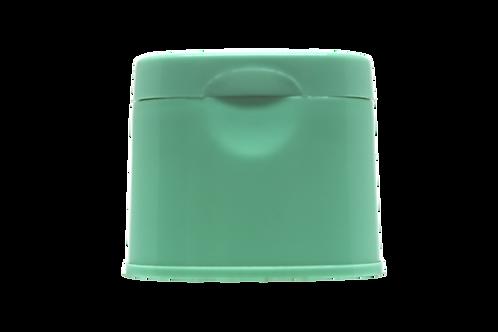 Tampa Flip Top Elegance Verde Água (25 Unidades)
