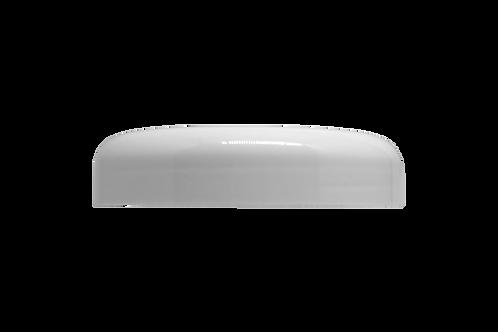 Tampa Plástica Branca P/ Pote Abaulado 250g (25 Unidades)