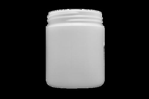 Pote Plástico Abaulado 100g Natural Sem Tampa (25 Unidades)