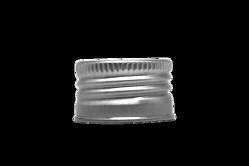 Tampa Alumínio R28/410 Prata (25 Unidades)