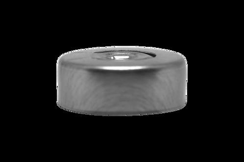 Selo Alumínio Prata 20mm Rasgável