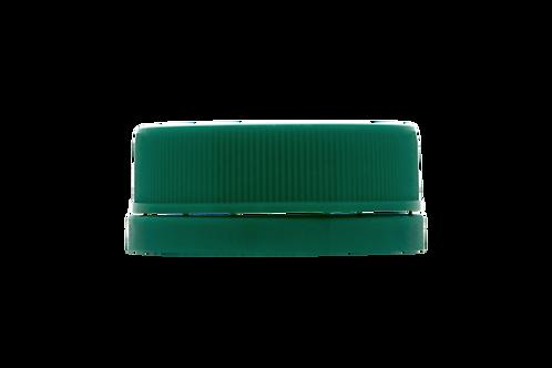 Tampa Rosca Inviolável R30/35 Verde Escuro (25 Unidades)