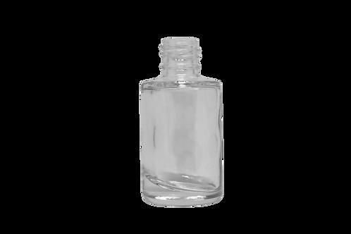 Frasco Esmalte Cilíndrico 10ml Cristal R13/415 (25 Unidades)