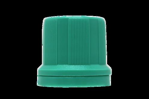 Tampa Din 18mm Verde Água (25 Unidades)