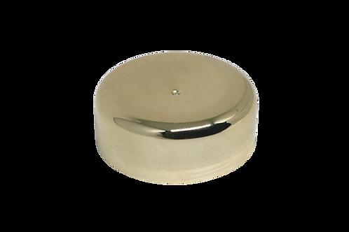 Tampa Metalizada Ouro C/ Disco 632 P/ Pote 60ml (25 Unidades)