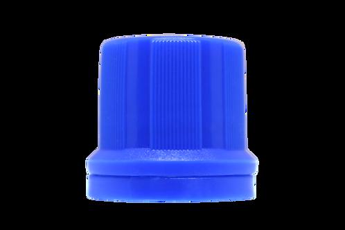 Tampa Din 18mm Azul Escuro