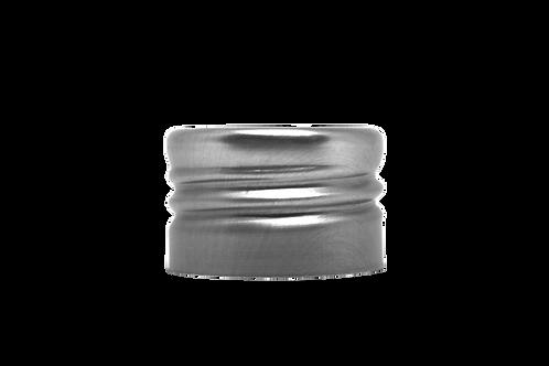 Tampa Alumínio Furada R28/410 Prata (25 Unidades)