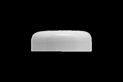 Tampa Plástica Branca P/ Pote Abaulado 100g (25 Unidades)