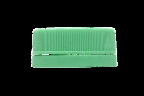 Tampa Rosca Inviolável R30/35 Verde Claro (25 Unidades)