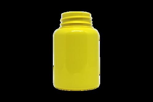Frasco PET 38150 150ML R38MM Amarelo Opaco Sem Tampa (25 Unidades)