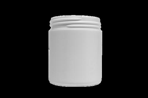 Pote Plástico Abaulado 100g Branco Sem Tampa (25 Unidades)