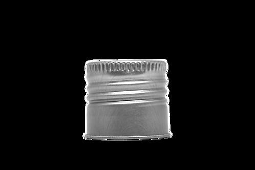Tampa Alumínio Furada R24/415 Prata (25 Unidades)