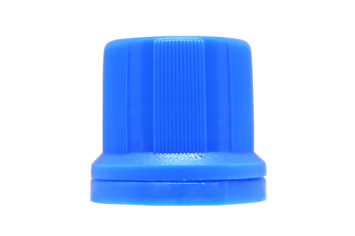 Tampa Din18mm Azul Claro (25 Unidades)