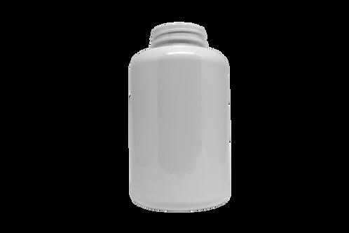 Pote PET 43-R500 500ML R43MM Branco Sem Tampa (25 Unidades)