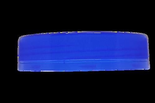 Tampa Rosca Inviolável R250/1000 Azul Escuro Translúcido (25 Unidades)