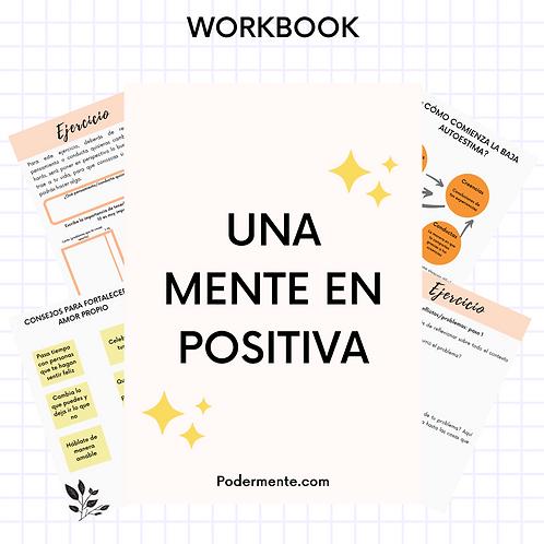 """Workbook """"Una mente en positiva"""""""