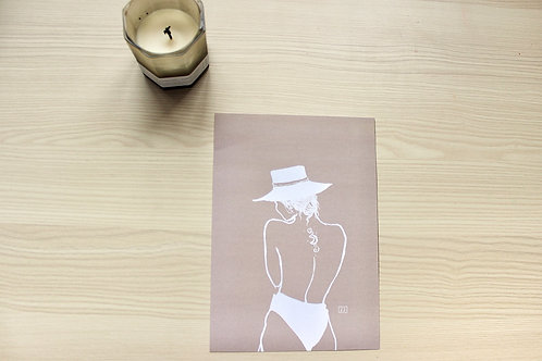 """DAY DREAMING- NUDE EDITION"" Print"
