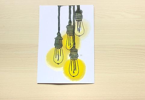 """LIGHT RADIANCE"" Print"