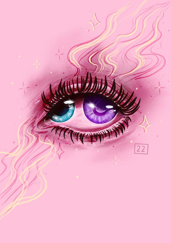 mystical eye piece using