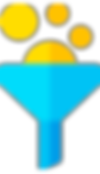 ícone funil de vendas