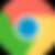 ícone chrome navegador