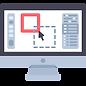 ícone computador design