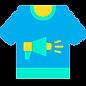 ícone camiseta