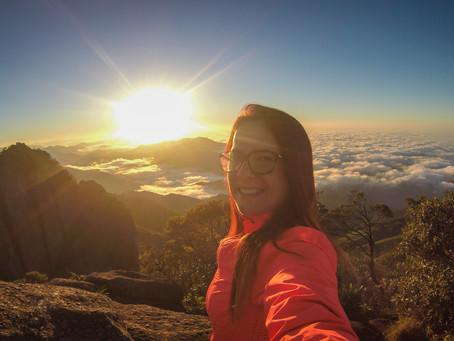 Trilha noturna no Pico da Pedra Selada