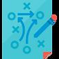 ícone estratégia jogo