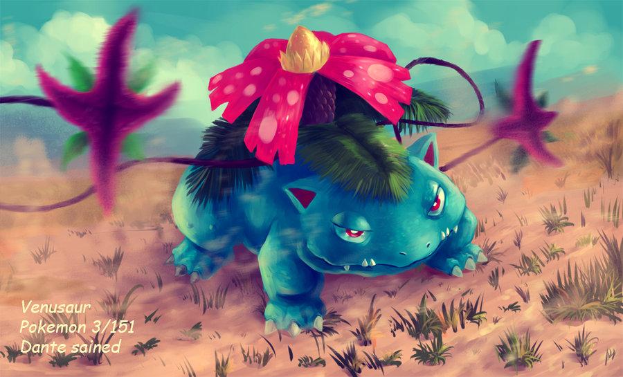 Pokémons desenhados por DanteCyberMan
