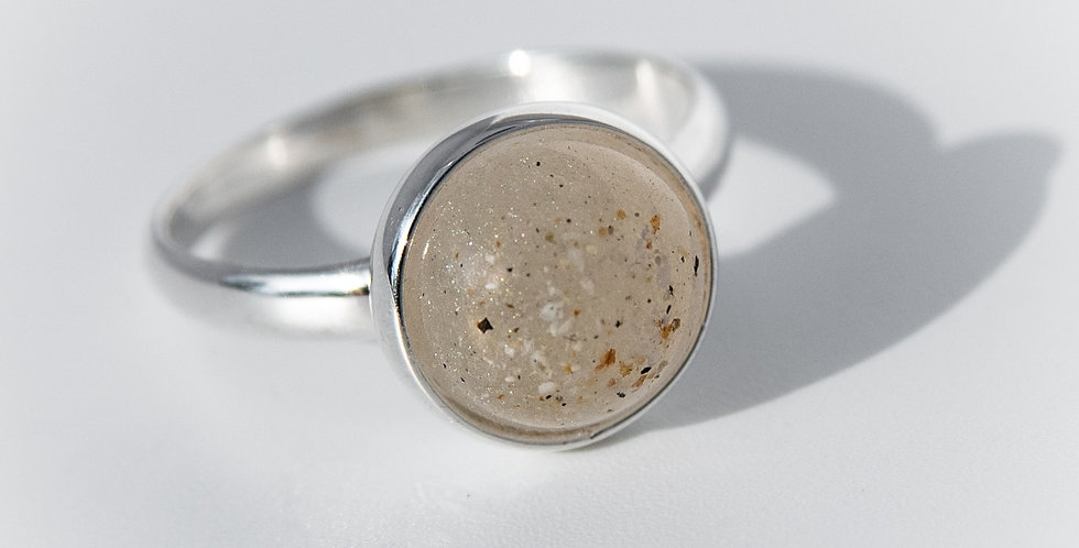 Circular Ashes Ring