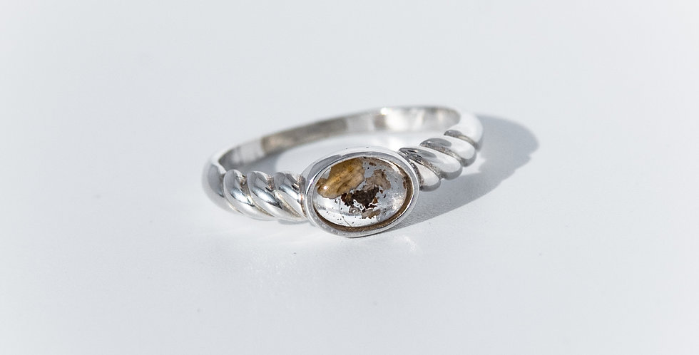 Twisted Oval Ring