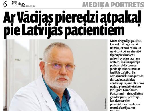 Mediķa portrets: ķirurgs Gundars Forstmanis