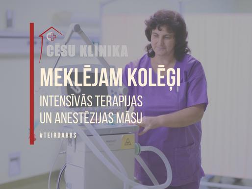 Meklējam kolēģi reanimācijas un anestezioloģijas nodaļā