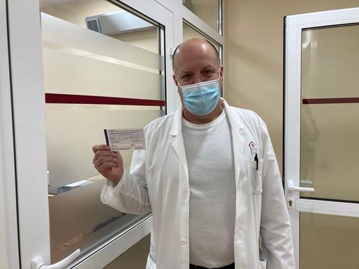 Cēsu klīnikā sākas vakcinēšana pret Covid-19