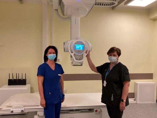 Cēsu klīnikā uzstādīta jauna divu detektoru digitālā rentgena iekārta