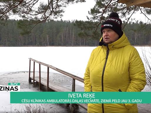 Kā baudīt aukstumu ledus peldēs