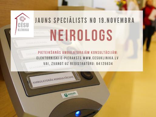 Cēsu klinikā darbu sāks jauns neirologs