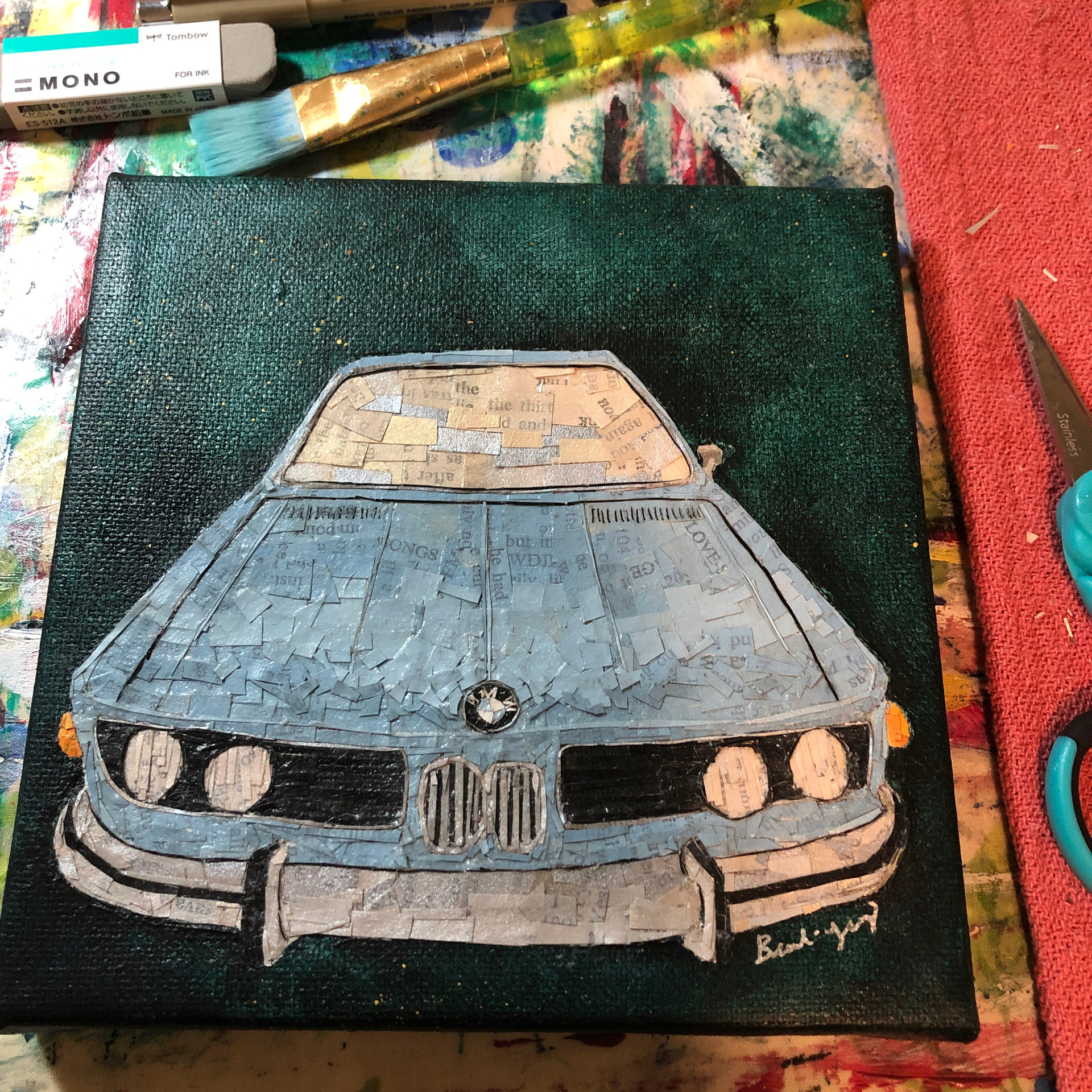 BMW In Progress