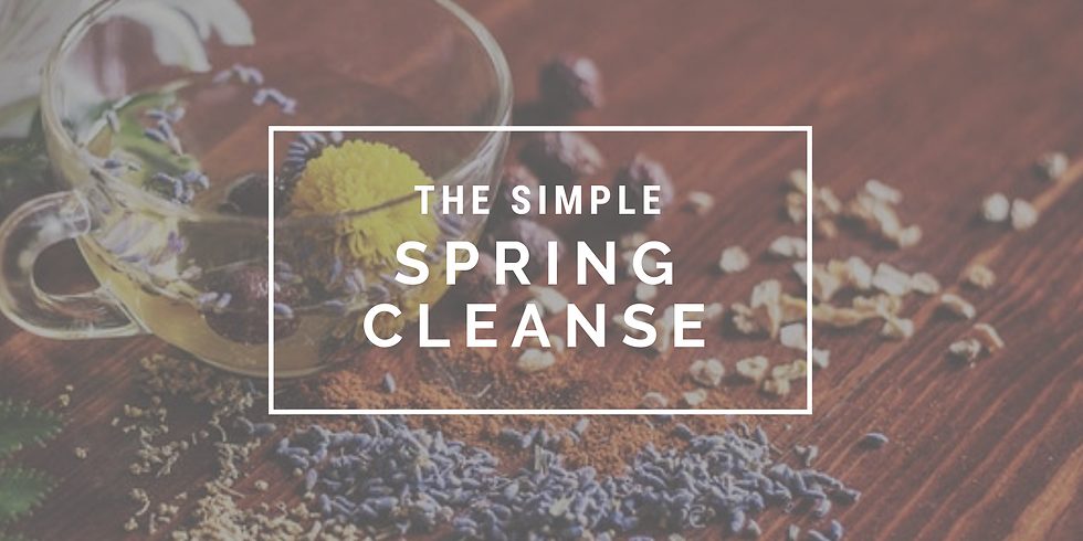 The Simple Spring Cleanse
