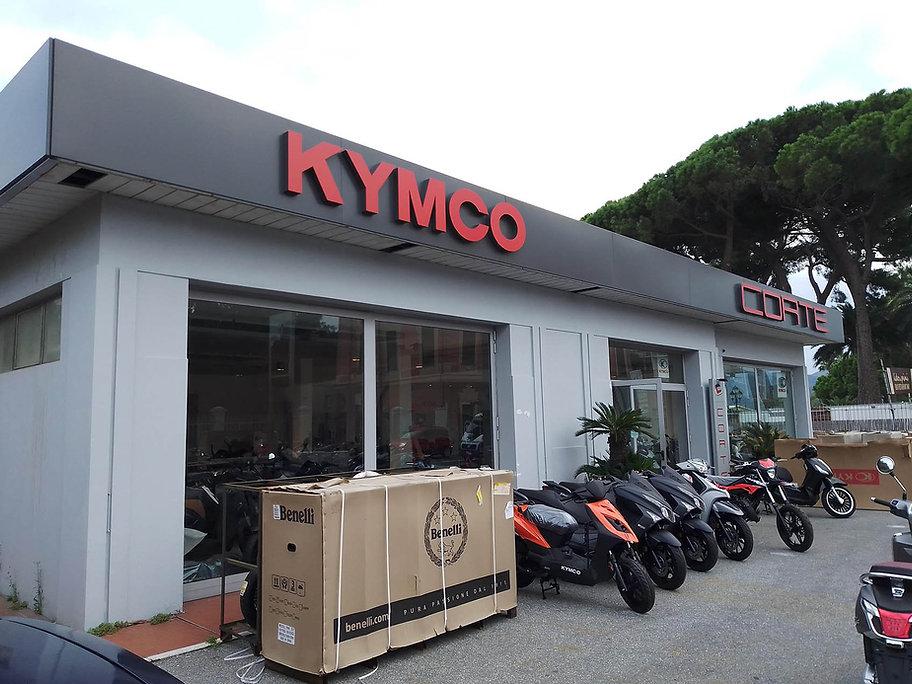 Kymco SV corte