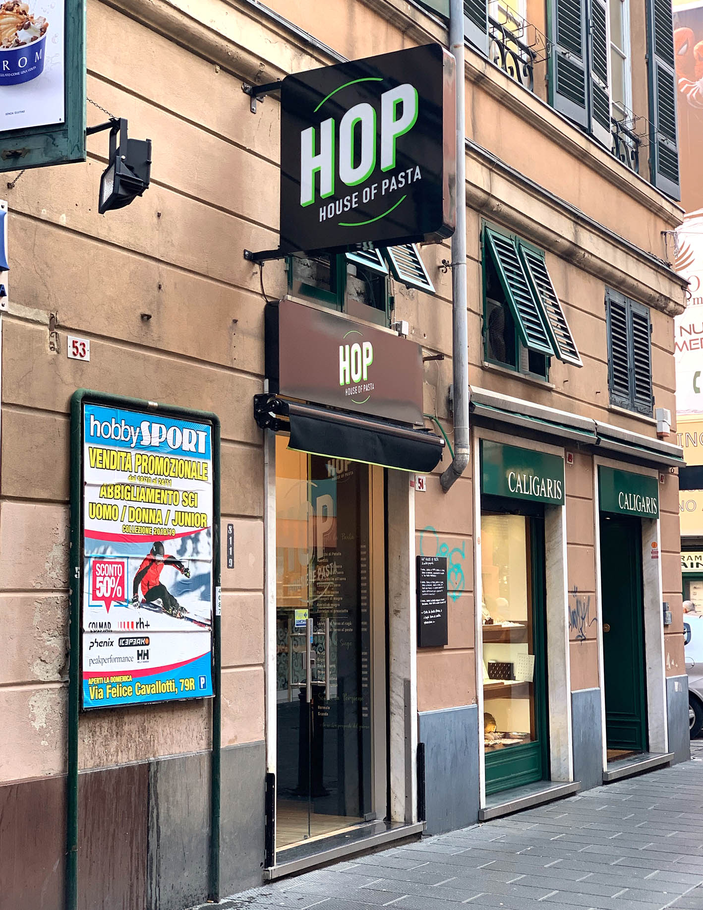 Hop House of pasta