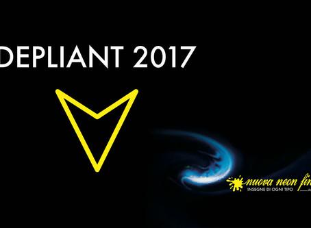 Depliant 2017 - Nuova Neon Finetti