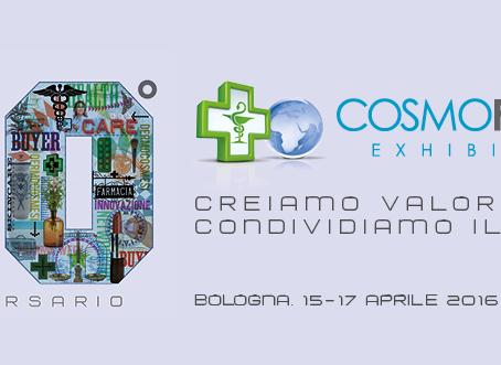 BOLOGNA, 15-17 APRILE 2016 Cosmofarma Exhibition 2016 - Nuova Neon Finetti: Padiglione 26 stand B37-