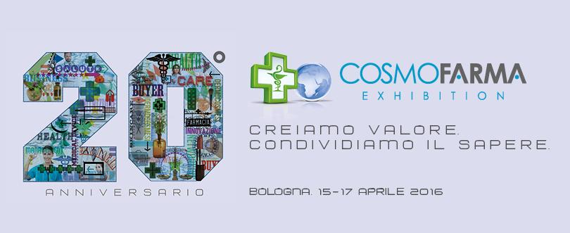 Cosmofarma Exhibition costituisce l'evento leader per il mondo della farmacia a livello europeo nell'ambito dell'Health Care, del Beauty Care e di tutti i servizi legati al mondo della farmacia.