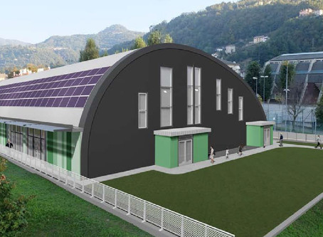 Una nuovo palazzetto dello sport per la città di Valdagno