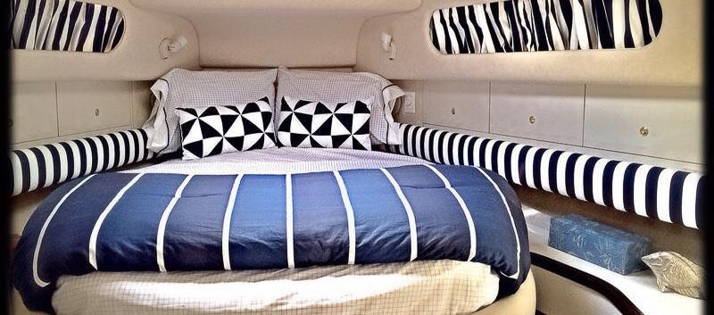 Yatch cruise bedroom