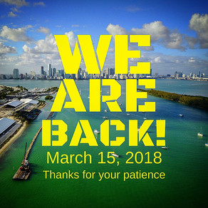 We Are Back!!! (to our original location)